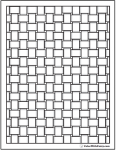 flower coloring pages pdf basket pattern coloring pages