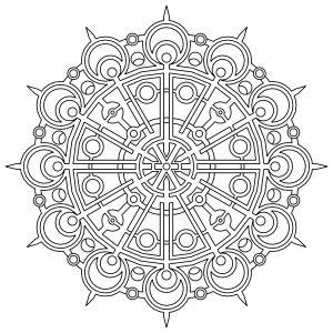 flower coloring pages pdf geometric color pages