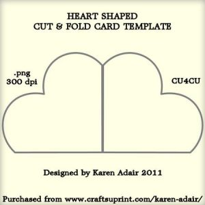foldable card templates cup