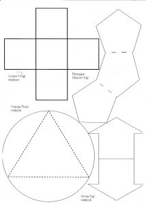 foldable card templates minibook master template