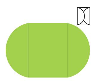 folding card template