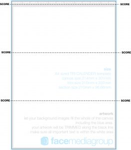 folding card template free print ready o