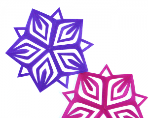 folding card template printable kirigami star template and diy from omiyage blogs