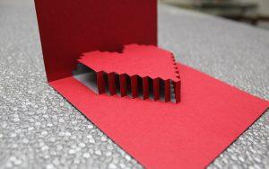 folding cards templates b close up