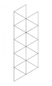 folding cards templates flexagon