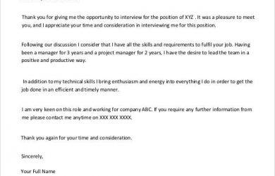 follow up email after interview sample sample of follow up email after job interview