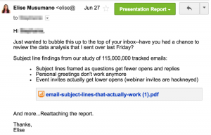 follow up email example follow up email template pitch reporter