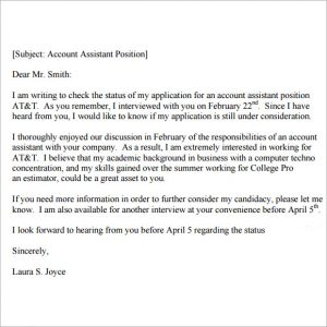 follow up interview email sample follow up email after interview status
