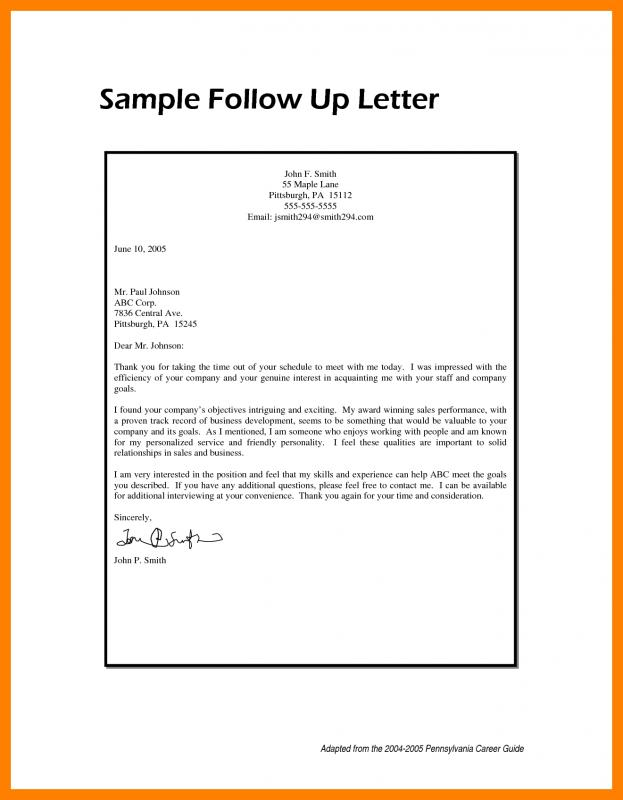 Followup Email Example | Template Business