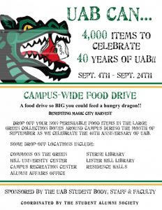 food drive flyer canned food drive flyer