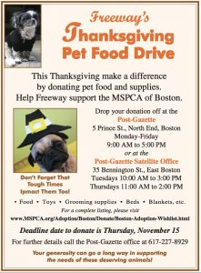 food drive flyers northendwaterfront at pm