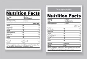 food label template food nutrition facts label template