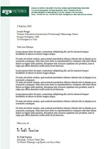 formal email template formal letter