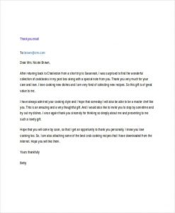 formal email template professional thank you email