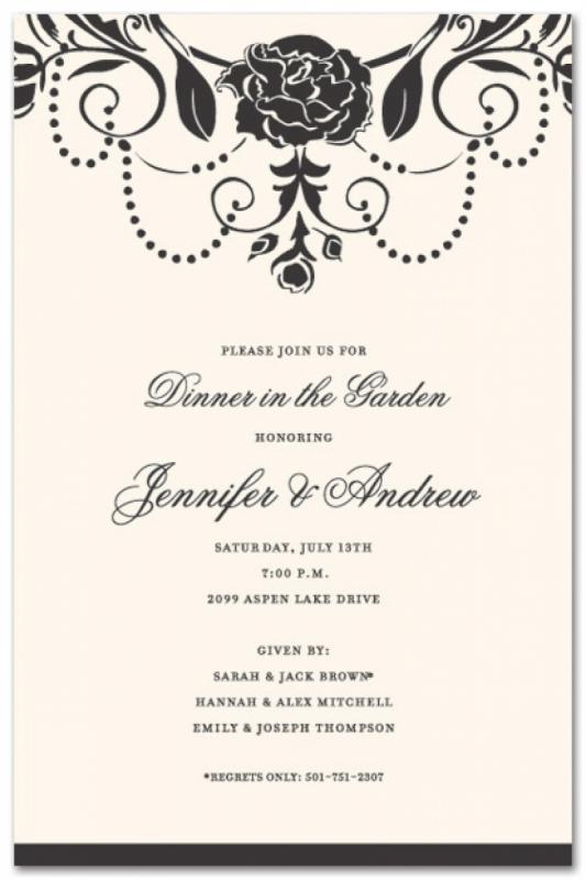 Formal Invitation Template  Template Business