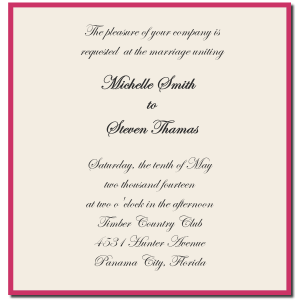 formal invitation template formal wedding invitation template sample
