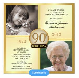 formal invitation templates th birthday photo invitations