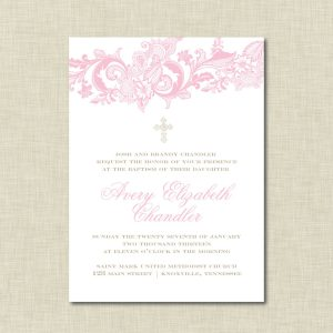 formal invite templates baptism invitations templates free download