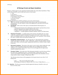 formal lab report template biology lab reports examples biology lab report examples