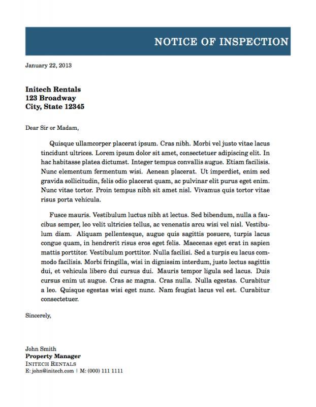 Formal letter format template business formal letter format altavistaventures Image collections