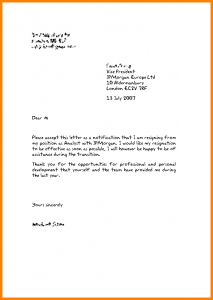 formal resignation letter template english resignation letter template teacher resignation letter template uk