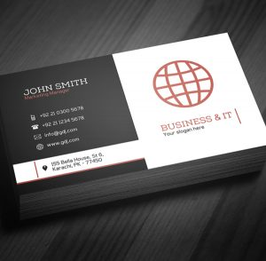 format for a cover letter business card template