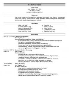 Format For A Cover Letter