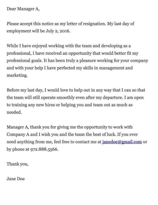 Thankful resignation letter image collections letter format formal format for a cover letter template business format for a cover letter expocarfo expocarfo