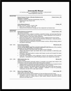 format of reume example of good resume format alexa resume inside good examples of resumes