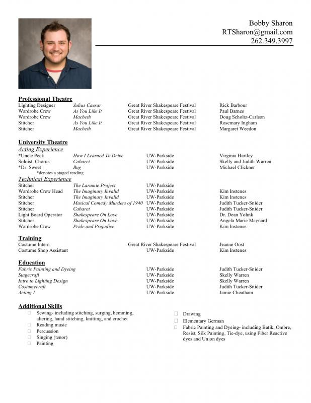 formatting a resume