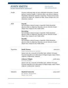 free basic resume templates free resume templates primer job resume template word