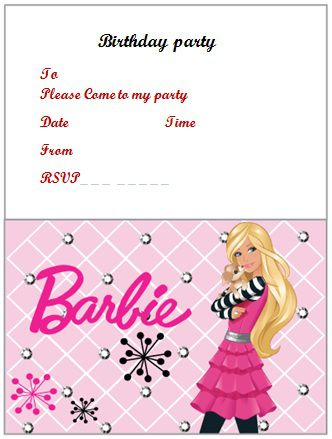 Free Birthday Invitation Templates For Adults  Free Birthday Invitations Templates For Kids