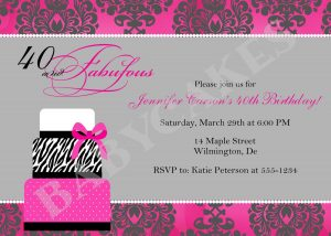 free birthday invitation templates for adults free birthday party invitation templates for adults