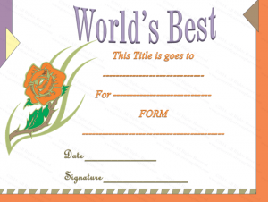 free blank certificate templates classic words best award certificate template