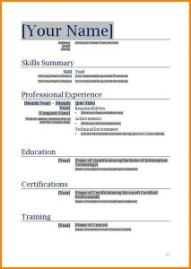 free blank resume templates empty resume template word free printable resume xtpitu