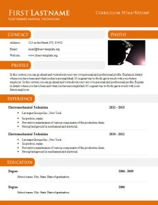 free blank resume templates free cv template