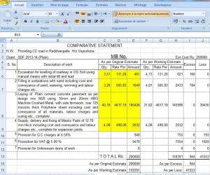 free building estimate format in excel road estimate template in excel format