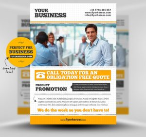 free business flyer templates free business flyer template