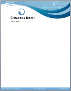 free business letterhead templates company letterhead template
