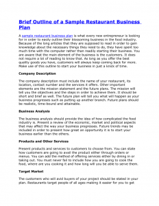 free business proposal outline