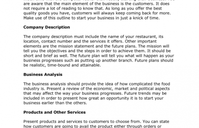 free business proposal template free restaurant business plan template x