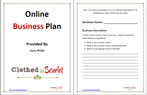 free business proposal template online business plan template