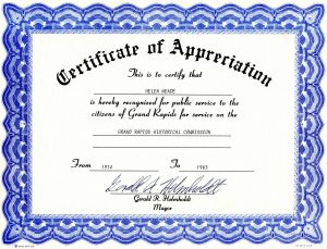 free certificate template appreciation certificate templates pdf