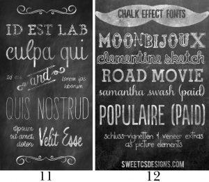 free chalkboard font chalkboard fonts