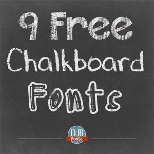 free chalkboard font djbfonts freechalkboardfonts