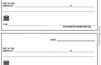 free check printing template free printable blank check template blank check template pdf