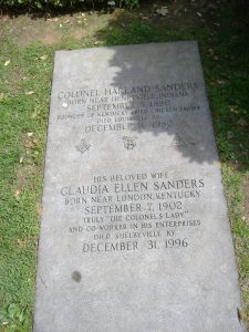 free check template colonel sanders grave