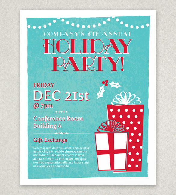 free christmas flyer templates