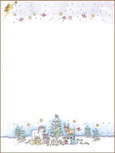 free christmas stationery templates free printable christmas stationery templates