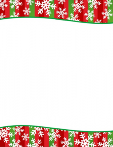 free christmas stationery templates snowflakes stripes christmas letterhead geographics l